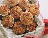 Cranberry Apple Walnut Muffins