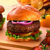 All-American Lamb Burger: Main Image