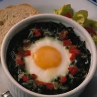 Basic Baked Eggs: Main Image